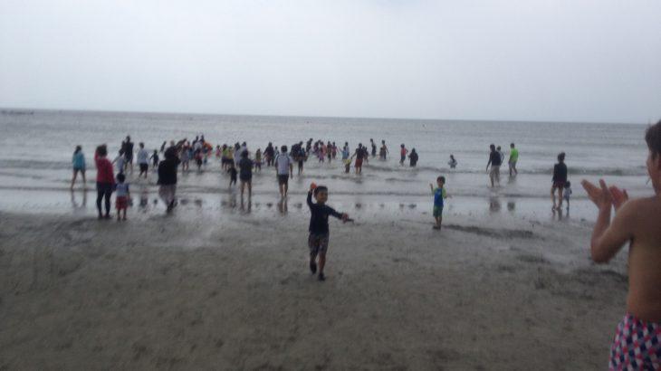 地引網と海水浴+アサリ採り