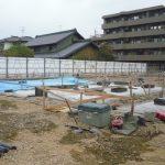 【猪子石原6棟】基礎の配筋工事開始前