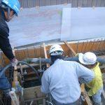 【こだわりキッチンの家】基礎コンクリート打設完了