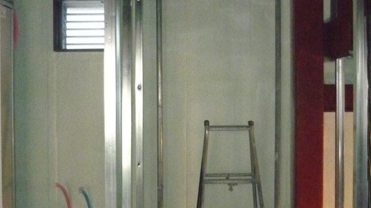 【エレベーターのある家】軽量工事