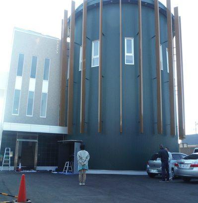 日本街路灯製造の入り口付近の画像