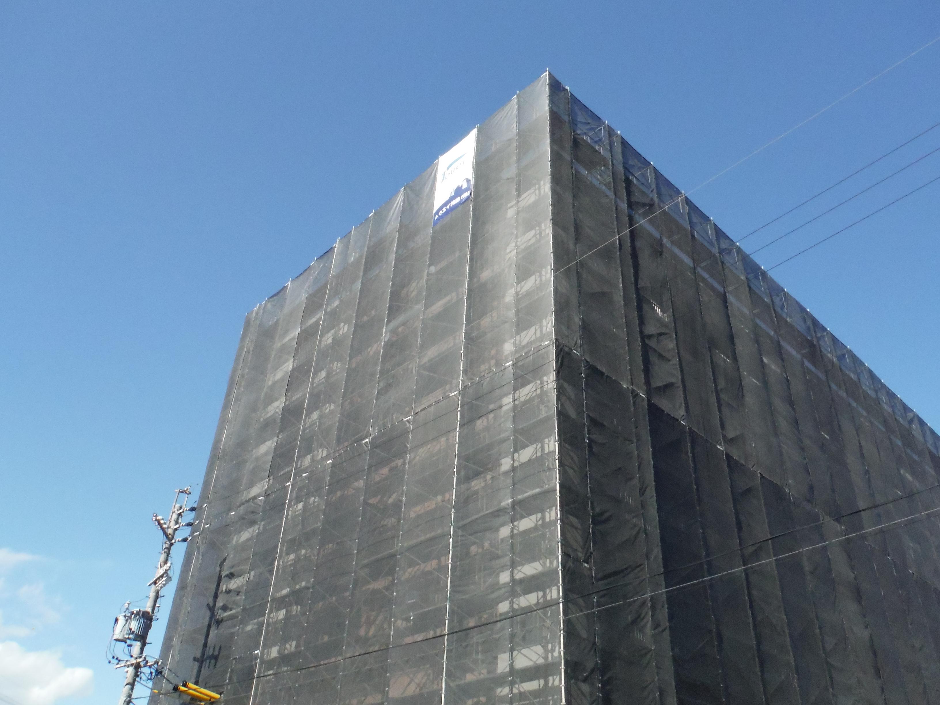 市営住宅の大規模修繕工事