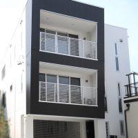さとう建設施工の住宅 ホームエレベーターがある3階建て 外観画像